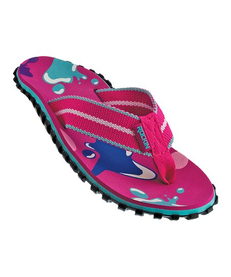 8a6a4139c9384 love this product Pink Road Runner Flip-Flop - Girls