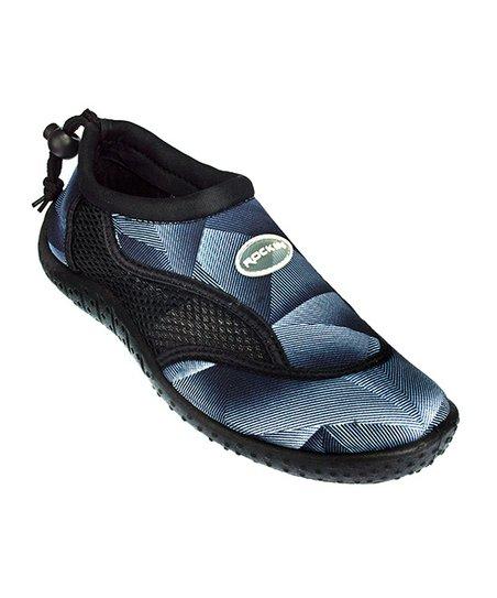 c1559f14543a99 Rockin Footwear Black Aqua Earth Water Shoe - Kids