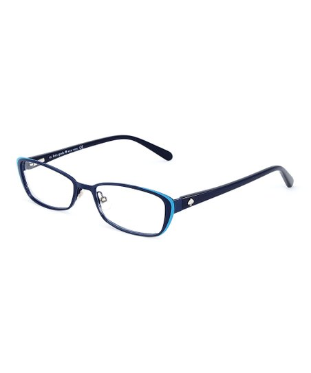 590c6b7023f love this product Navy   Turquoise Lidia Eyeglasses