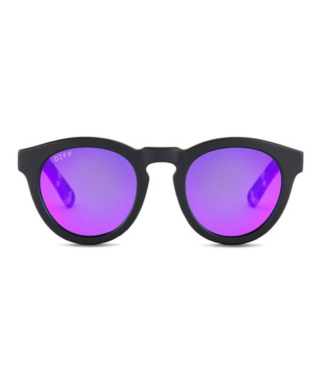 47d8da6e0b love this product Matte Black   Purple Dime II Polarized Sunglasses