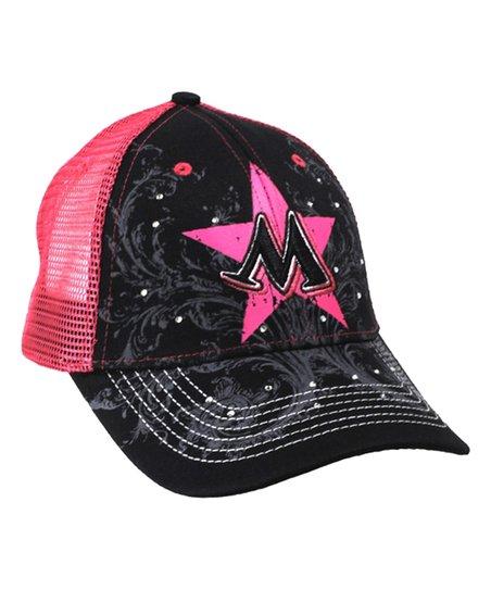 Monster Jam Black Pink Madusa Supernova Trucker Hat Kids Zulily