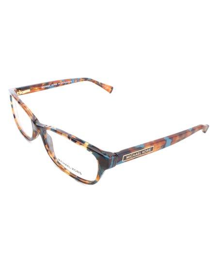 8e66a617d2884 Michael Kors Blue   Tortoise Porto Alegre Eyeglasses