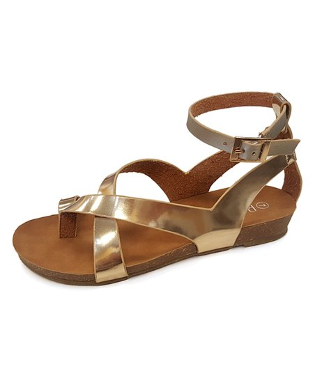 6c0c96f759b love this product Champagne Strappy Whisper Sandal