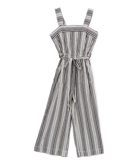 b82737b0ff16 bebe Chambray Denim Stripe Jumpsuit - Girls