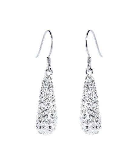 7479da50e love this product Sterling Silver Drop Earrings With Swarovski® Crystals