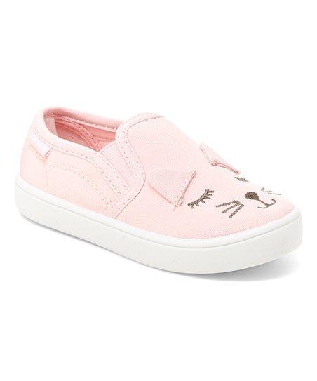 b0f33c8211c2 love this product Pink Tween Cat Slip-On Sneaker - Girls