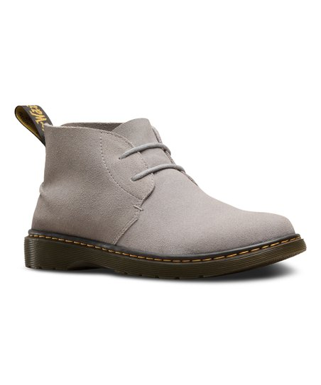 89984be96f3 Dr. Martens Mid Gray Ember Suede Chukka Boot - Men
