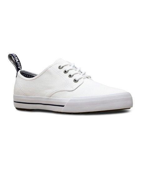 ac46de95 Dr. Martens White Pressler Canvas Sneaker - Men   Zulily