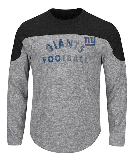 030d8b4b7e5 Majestic Athletic New York Giants Split Yoke Tee - Mens Big   Tall ...