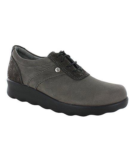 9429fb62466 Wolky Gray Nido Leather Sneaker - Women