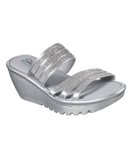 skechers sandals silver Sale,up to 48