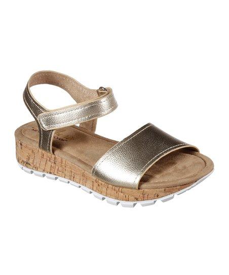 Gold Footsteps Sun Spirit Sandal
