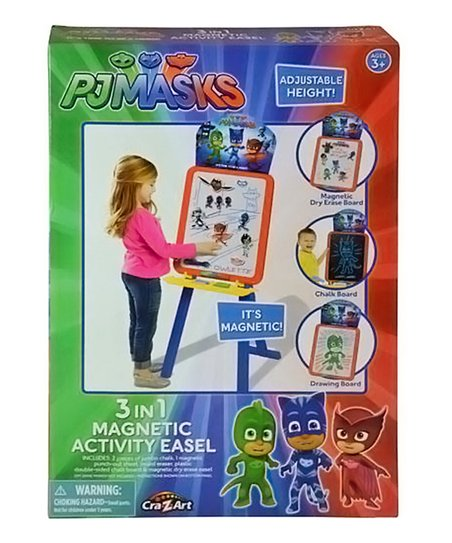 Cra-Z-Art PJ Masks 3 in 1 Magnetic Activity Easel