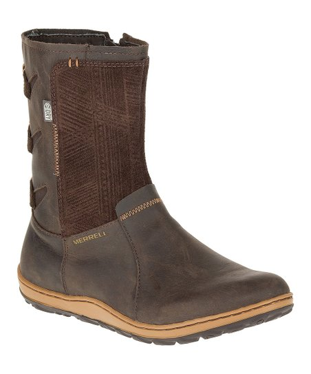Merrell Womens Ashland Vee Mid Waterproof-W Snow Boot