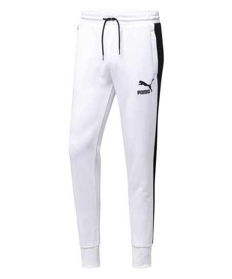 official photos f49c6 4ba06 love this product PUMA® White-PUMA® Black Archive T7 Track Pants