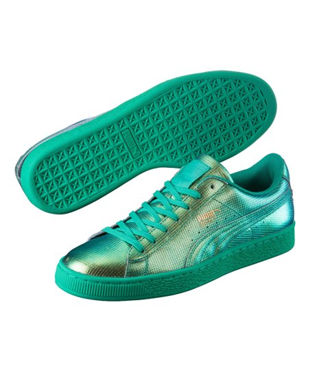 PUMA Green Flash Basket Classic Holographic Sneaker  2bd3b8710