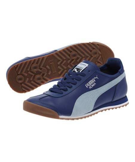 d55e6a8dc22ffd PUMA Twilight Blue   Blue Fog Roma OG 80s Sneaker