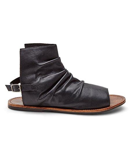 4235863892f Matisse Black Wesley Leather Sandal - Women