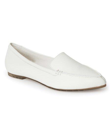 c148e07f94b Me Too Cream Audra Leather Loafer