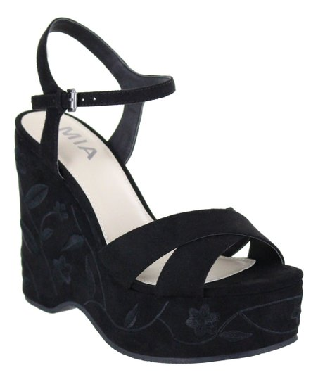 a97ad4b6a97 MIA Shoes Black Willa Platform Sandal - Women