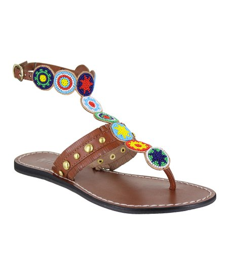 MIA Shoes Bright Athena Leather Sandal - Women  eb3368b735