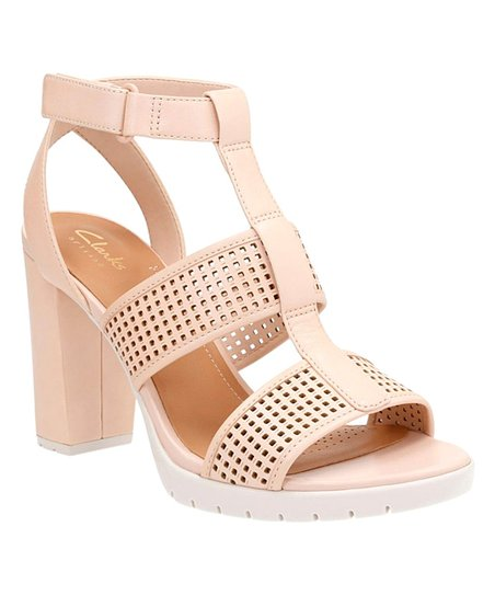 3e5547a2a9cb love this product Nude Pastina Castle Leather Sandal