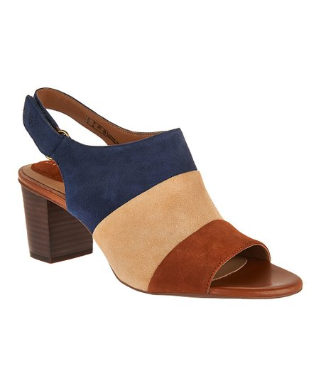 abeae5d7533f love this product Navy Ralene Shine Suede Sandal