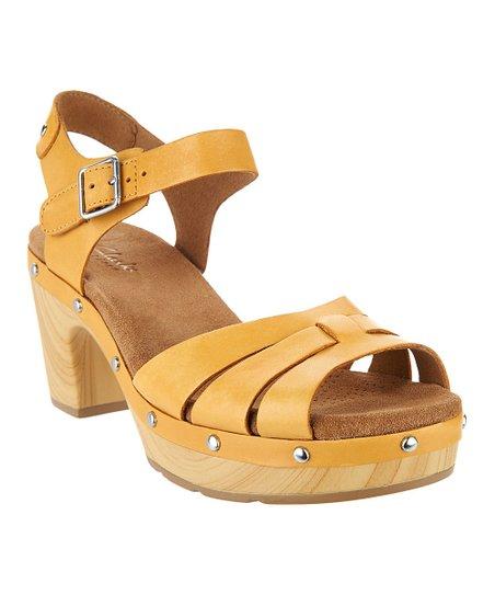 32b0cb96cdf8 love this product Yellow Ledella Trail Leather Sandal