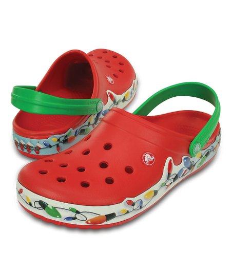 Crocs Red Crocband™ Holiday Lights