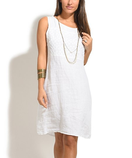 d3a3bab34c love this product White Lola Linen Dress