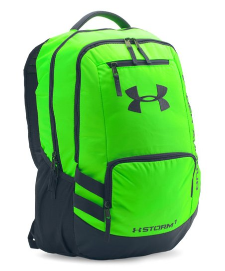 437a25790501 Under Armour® Hyper Green Storm Hustle II Backpack