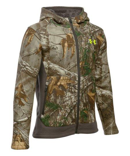 c4ddd38b5eca6 love this product Reatree AP-XTRA UA Storm Stealth Fleece Jacket - Boys