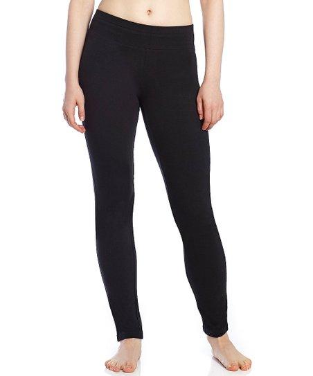 a316e0a7e0 Leveret Black Boot-Leg Yoga Pants - Women | Zulily