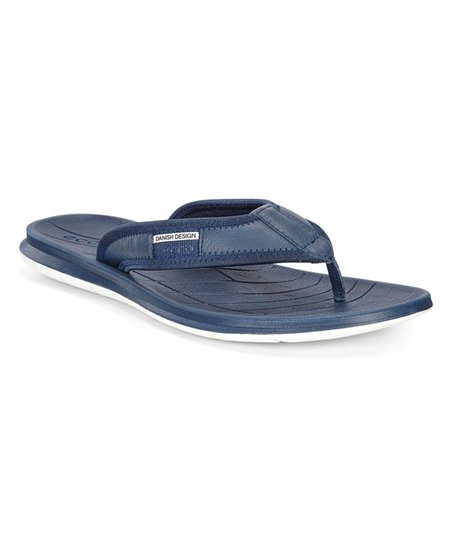ECCO True Navy Intrinsic Tøffel Leather Sandal Men
