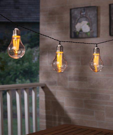 Hanging Led Edison Bulb Solar Ed String Lights