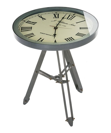 Love This Product Clock Side Table