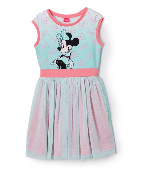 ca18a569c Jerry Leigh Minnie Mouse Strawberry Cream A-Line Dress - Girls