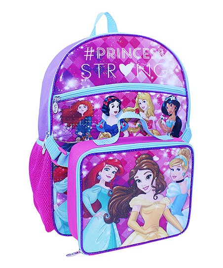 Bioworld Disney Princess Backpack   Lunch Box  cb7225c0abb0b