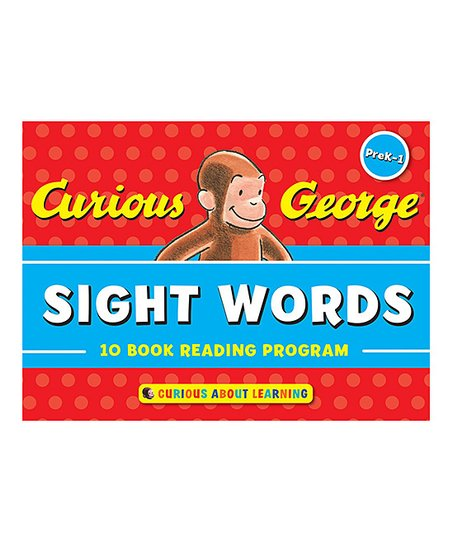 Houghton Mifflin Harcourt Curious George Sight Words Book Set