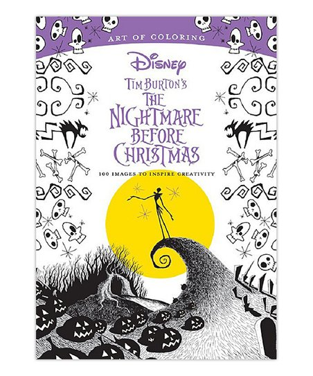 Hachette Book Group The Nightmare Before Christmas Coloring Book ...