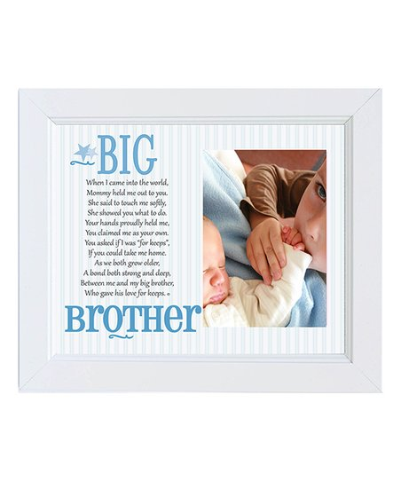 The Grandparent Gift Co Big Brother Frame Zulily