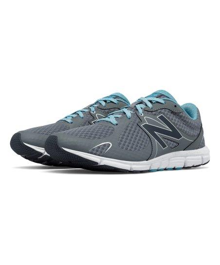 e3db558b0e585 New Balance Gunmetal & Blue 630 Running Shoe - Women | Zulily