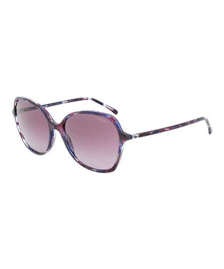 cec17736a6bf love this product Purple Oval Signature Sunglasses