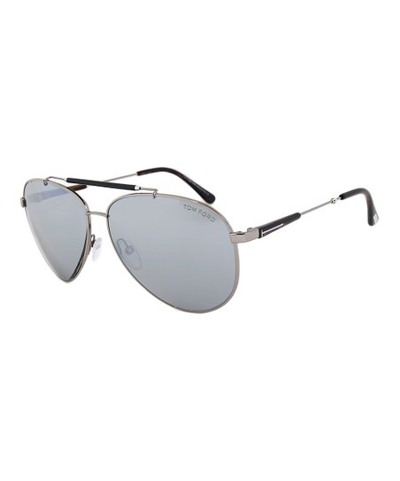 7b687e33842d love this product Light Ruthenium   Gray Mirror Rick Aviator Sunglasses -  Men