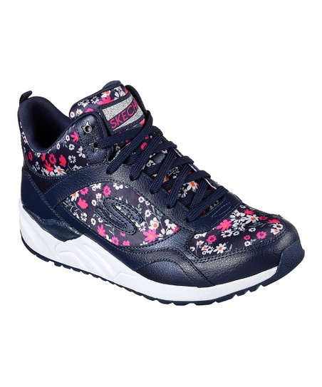 12a0bf37df33 love this product Navy Floral OG 95 Daisy Crazy Leather Sneaker