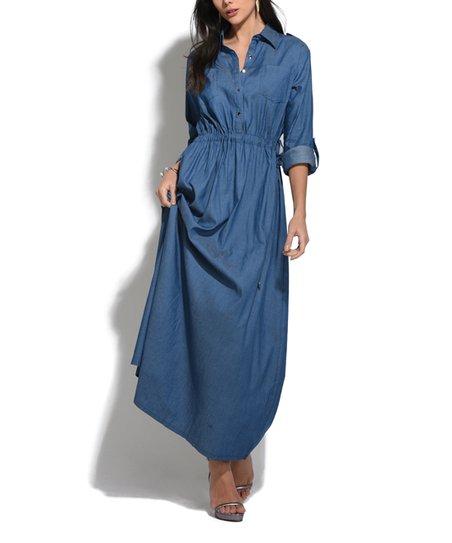 3318dba4cbb love this product Ocean Jean Maxi Dress