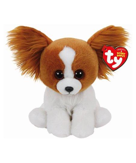 Beanie Babies Barks the Brown   White Dog Beanie Baby Plush Toy  4014332082