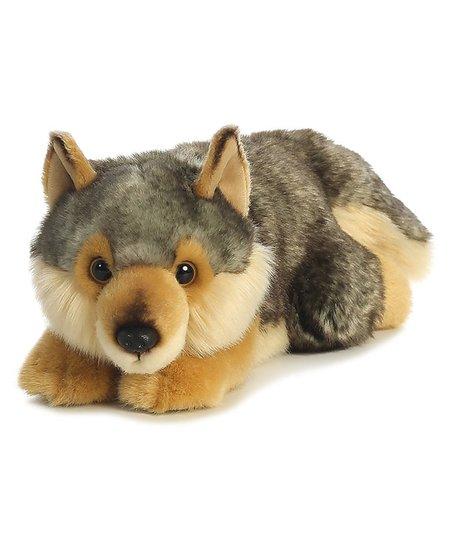 Aurora World Lying Wolf Plush Toy Zulily