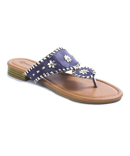 95a8c92353be love this product Purple   Silver Rosetta Sandal - Women