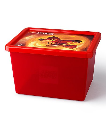 love this product Transparent Red LEGO® Ninjago Large Storage Box 65b58d2df